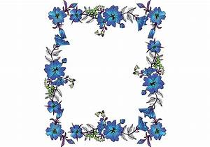 Free Vector Floral Frame - Download Free Vector Art, Stock ...