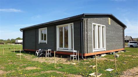 Moduļu mājas ir ekoloģiski tīras, energoefektīvas ...
