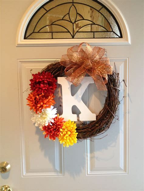 diy door wreaths diy fall door wreath sewing crafting diy pinterest