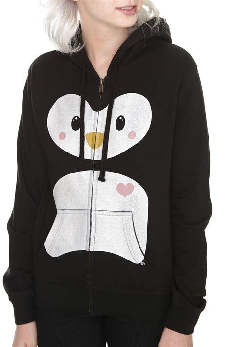 Amazon.com: Goodie Two Sleeves Love Penguin Girls Zip