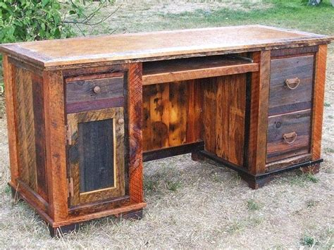 solid wood computer desk canada distressed wood desk wooden office desk distressed wood