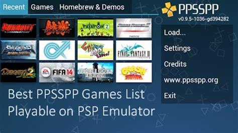 Kumpulan Games Ppsspp Android Iso Cso Terbaru
