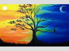 IKRI8 Painting Day and night tree fully booked at