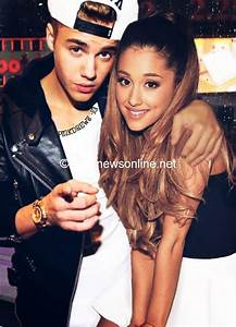 Image Gallery justin bieber and ariana