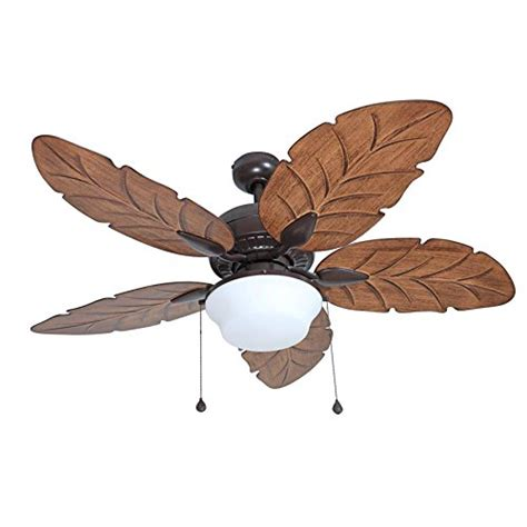 large ceiling fans with remote control harbor breeze waveport 52 in bronze outdoor downrod mount