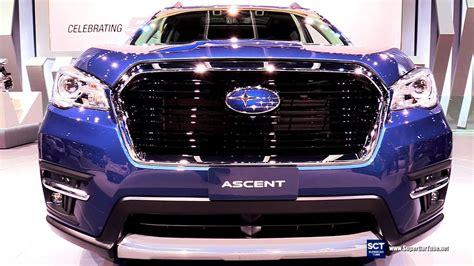 2019 Subaru Ascent Debut by 2019 Subaru Ascent Exterior Interior Walkaround Debut