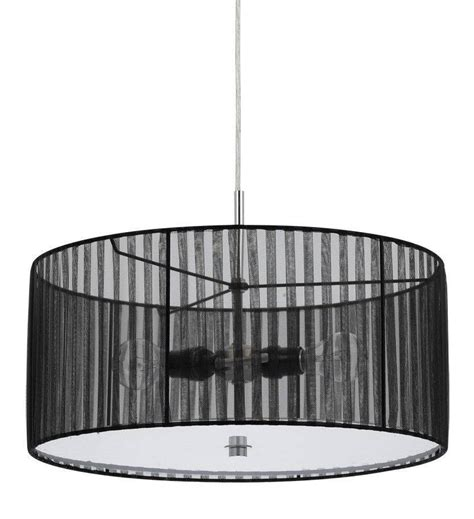 white drum l shade 15 best collection of black and white drum pendant lights