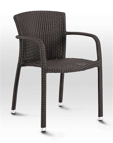 biscayne bay wicker arm chair sw05c restaurant furniture