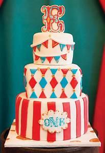 Big Top Vintage Circus First Birthday Party   Birthdays ...