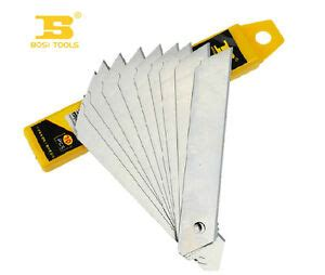 20Pcs Bosi Tool 80×9×0.5mm Small Size Utility Cutter Blade ...