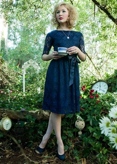 shabby apple navy lace dress beautiful dress dress2impress pinterest
