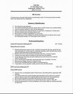 human resource resume examples resume and cover letter With best resume writing resources