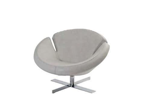 fauteuil en cuir signet collection les contemporains by