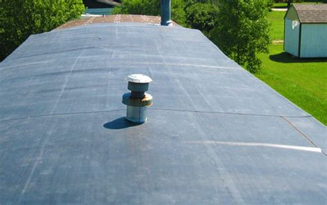 rubber roofing  mobile homes understanding  roof options mobile home repair