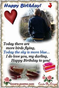 Happy Birthday, my Love | oriza.net Portal - lovers-poems ...