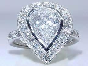 large engagement rings big wedding rings