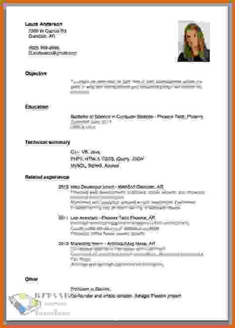 Make Professional Resume by 8 How To Make Professional Resume Lease Template