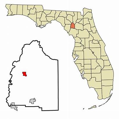 Gilchrist Florida County Bell Svg Trenton Unincorporated