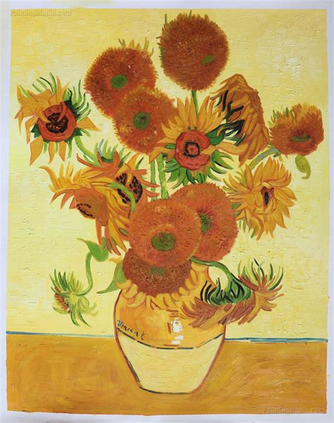 Van Gogh Sunflowers Original Wwwimgkidcom The Image