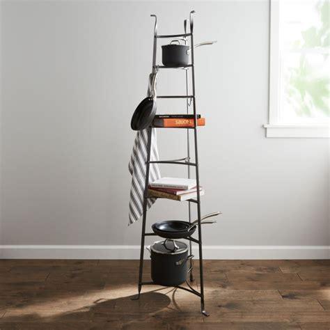 enclume standing  tier pot rack reviews crate  barrel