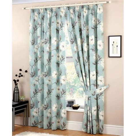 4 types of blue bedroom curtains