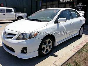Used Parts For 2011 Toyota Corolla  Stock   3071pr