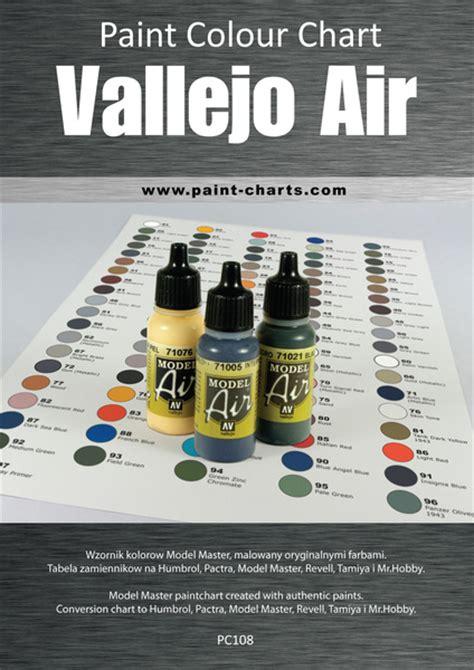 paint colour chart vallejo air 12mm pjb pc108