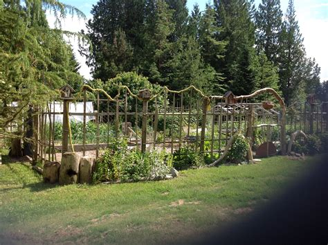 How To Build A Deer Proof….funky, Garden Enclosure Fence