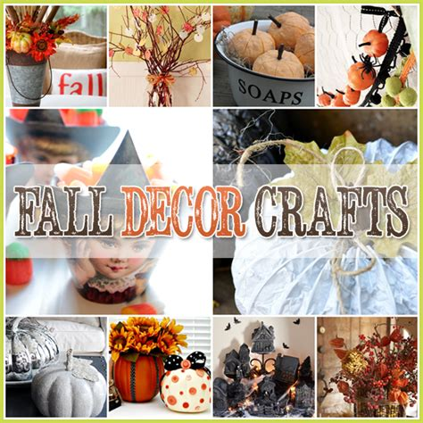 30 Fall Decor Craft Projects Diy's That Are Easy And Fun   Diy Awesomeness