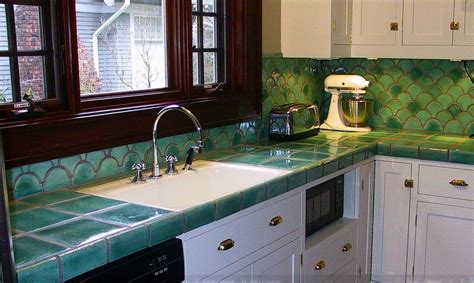 Kitchen Sink Types Pros And Cons by Tile Countertops Make A Comeback Know Your Options