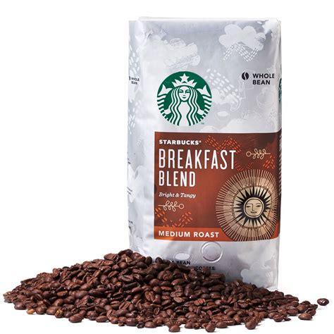 2 packs of 40 oz starbucks french roast whole bean coffee = 2 x 40 oz = 80 oz. Starbucks Breakfast Whole Bean Coffee 1.13kg/Medium Roast/2.5lb/100% Arabica   eBay