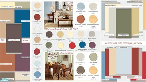 Kristiemi's Pottery Barn Fall Paint Colors