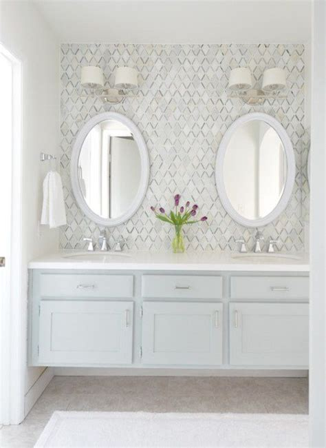 ideas  bathrooms  double vanities