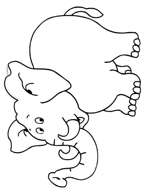 Kleurplaten Dieren Olifant kleurplaat olifant kleurplaten nl tekeningen