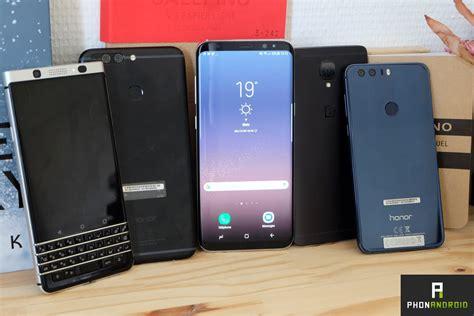 meilleurs smartphones android en