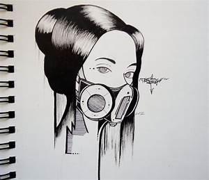 Graffiti Girl by Precise24 on DeviantArt