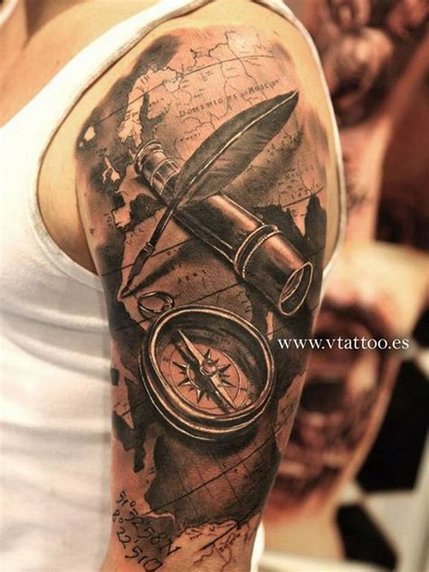awesome  sleeve tattoo designs