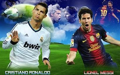 Messi Ronaldo Cristiano Lionel Vs Wallpapers Football