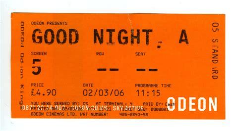 The Cinema Ticket Ad