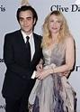 Nicholas Jarecki et Courtney Love lors du gala Pre-GRAMMY ...