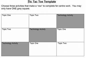 Div1 edtech in epsb technology as a part of a tic tac toe for Tic tac toe menu template