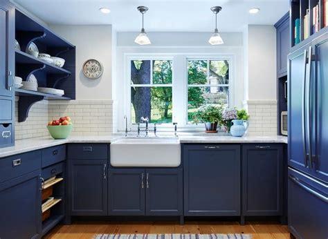 small kitchen designs pictures and sles cozinha azul 70 inspira 231 245 es de decora 231 227 o a cor 9329