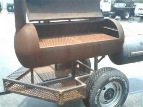 build  smoker trailer   junk youtube
