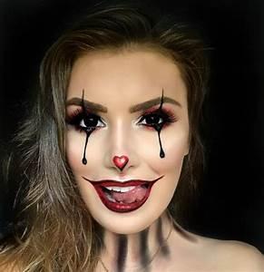 Halloween Schmink Bilder : 137 besten clown schminken bilder auf pinterest halloween makeup karneval und clown kost me ~ Frokenaadalensverden.com Haus und Dekorationen