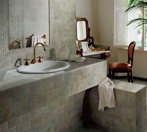 Tile Bathroom Countertop Ideas by Tile Counter Ideas For Kitchens And Baths