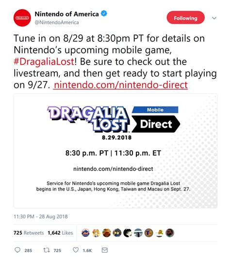 nintendo s next mobile dragalia lost gets a release