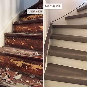 Alte Holztreppe Sanieren : treppenrenovierung trebowa ~ Frokenaadalensverden.com Haus und Dekorationen