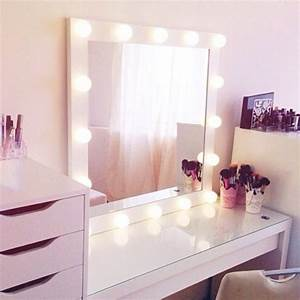 Leuchte Für Spiegel : spiegel mit beleuchtung f r schminktisch ~ Whattoseeinmadrid.com Haus und Dekorationen