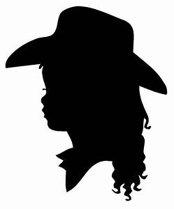 Little Cowboy Cowgirl Silhouette Vinyl Wall by ...