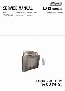 Sony Kv-hp21m83 Service Manual